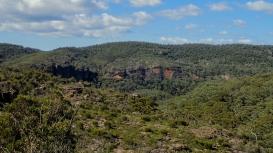 Themighty cliffs of the Bungleboori